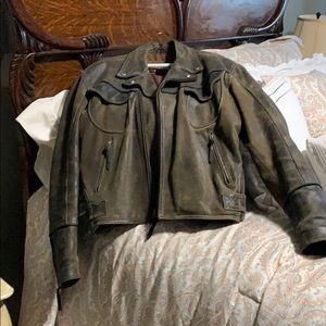 Harley-Davidson Billings distressed leather jacket